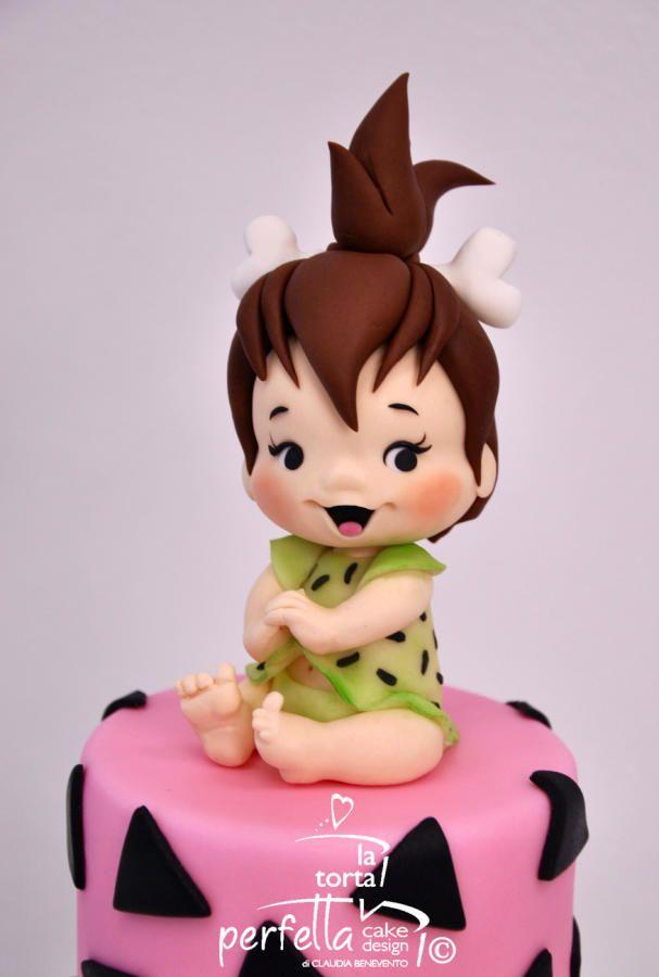 Pebbles Flintstones Cake by La torta perfetta