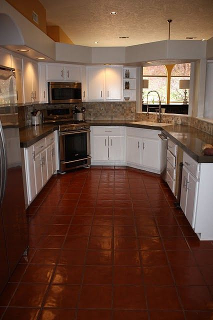 Self Leveling Concrete Countertop : How to cover tile cabinet tops with self leveling concrete