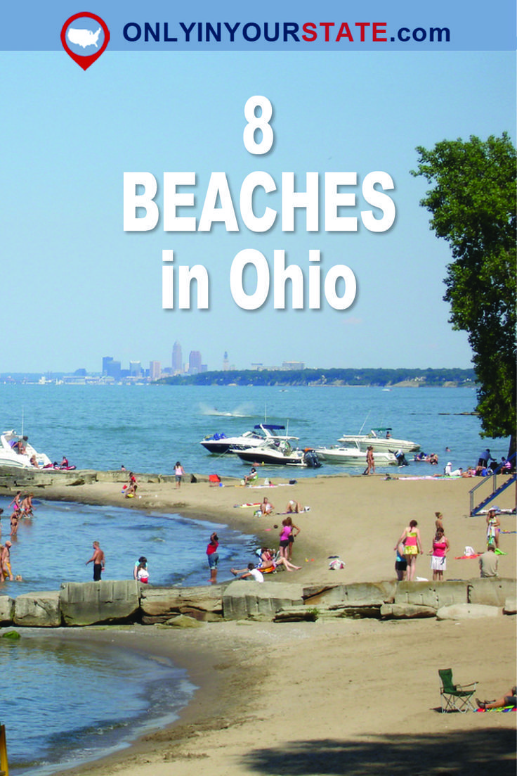These 8 Beaches In Ohio Are Going To