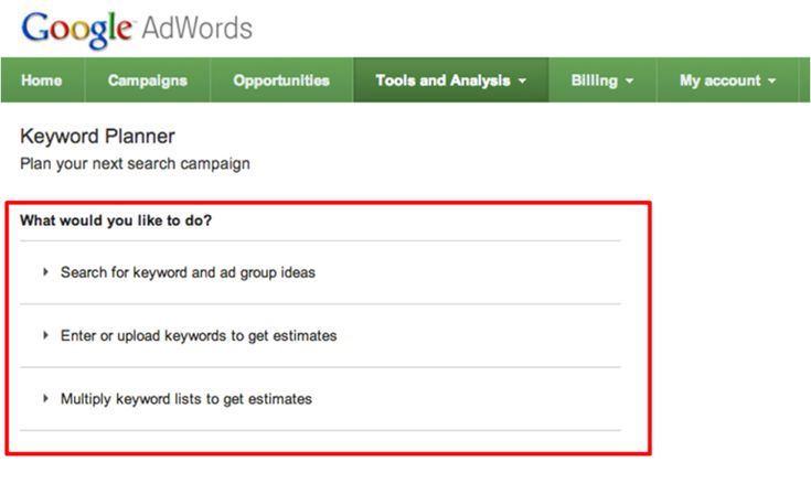 #Googlekeywordplanner enables you to have a close look on popular #keywords and which keywords are more relevant to your brand