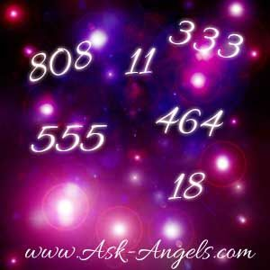 Angels and Numbers go together hand in hand. Do You consistently see a number like 808, 555, or 11 throughout your day? Your angels have a message for you!..I pick # 5.........