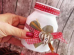 Мастерим баночку с пожеланиями на День святого Валентина - Ярмарка Мастеров - ручная работа, handmade