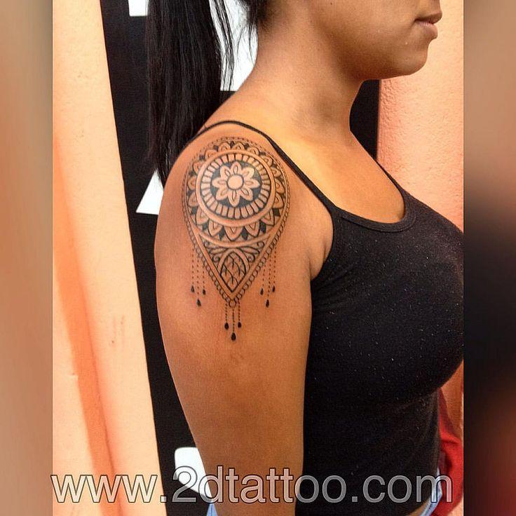 Obrigado Agatha Moura E ao Helder Alves pela confiança e por escolher o 2dtattoo, valeu! #tattoo #tatuaje #tatuagem #2dtattoo #estudiodetatuagem #praiagrandesp #mandala #tattoomandala #tibetan #hinduo #ornament