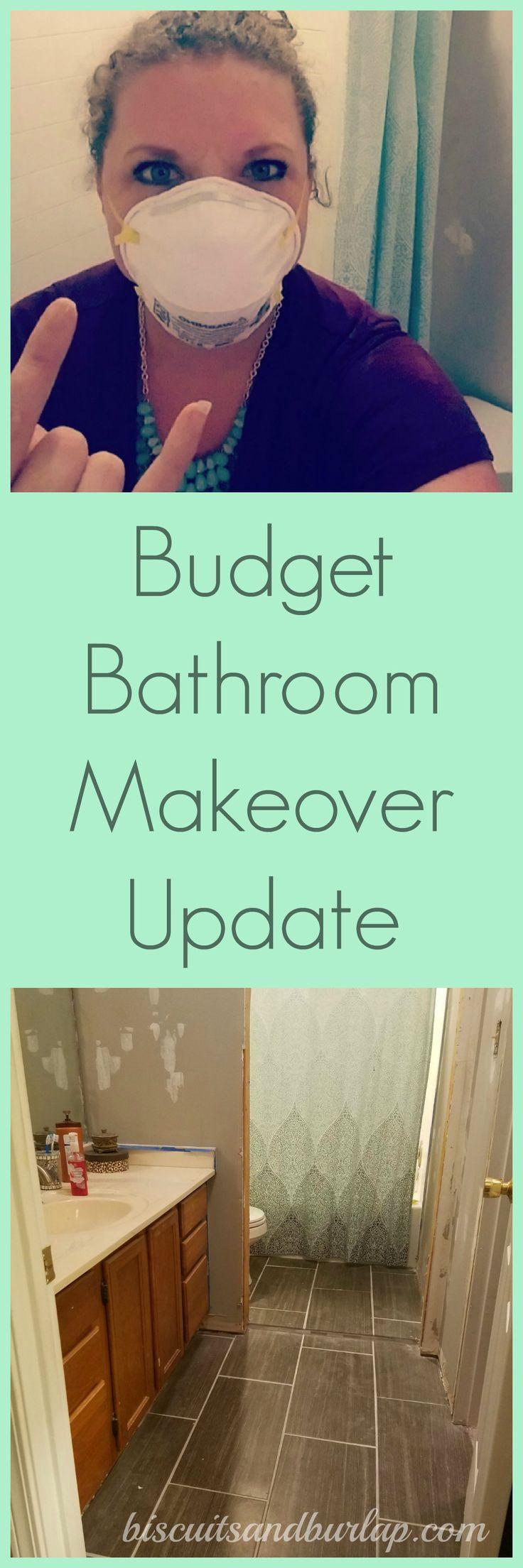 Best 25 Budget Bathroom Makeovers Ideas On Pinterest Diy Bathroom Furniture Diy Projects
