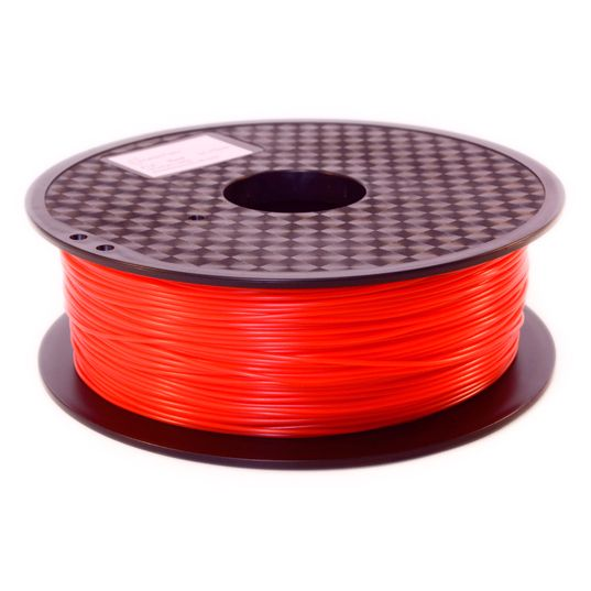 Filament 3D PLA rouge - Filament 3D PLA rouge qualité premium superbe couleur - Filament PLA orange abricot diamètre 1,75 mm pour imprimante 3D FDM