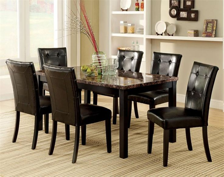 4477 Best Dining Room Furniture Images On Pinterest  Dining Room Inspiration Espresso Dining Room Table Sets Design Ideas