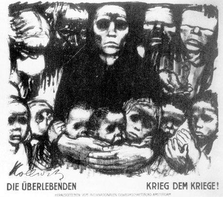 kathe kollwitz, widows and orphans