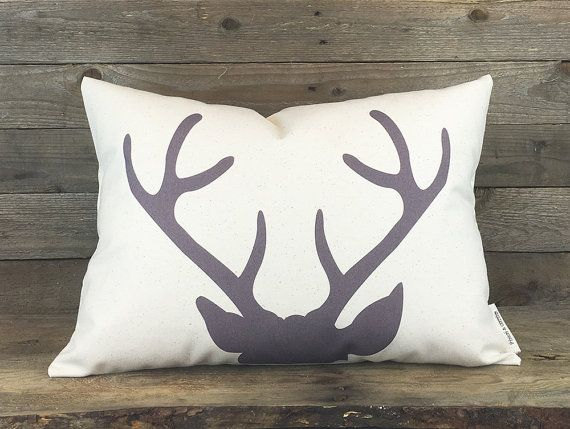 Hey, I found this really awesome Etsy listing at https://www.etsy.com/listing/228681805/modern-deer-pillow-housewarming-gift
