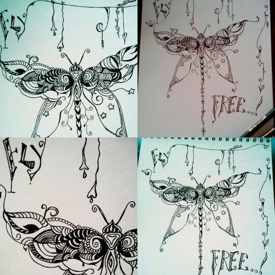Fly free ( inkpen )