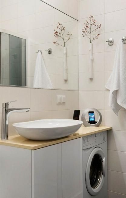 1000 ideas about small bathroom designs on pinterest for Lavabo pour petit espace
