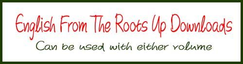 English From The Roots Up Downloads