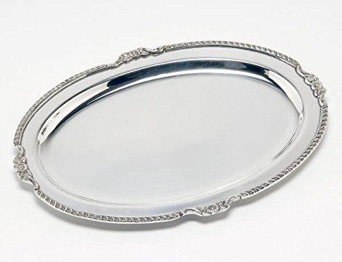 Vassoio ovale stile Regina Anna Sheffield Royal Queen…