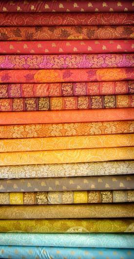 Indian fabrics!