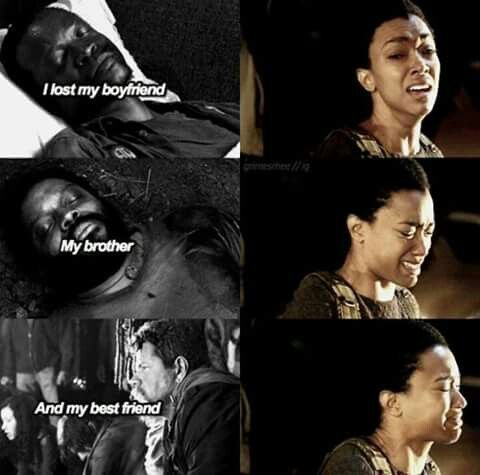 And Maggie lost her father, her sister, and her husband.