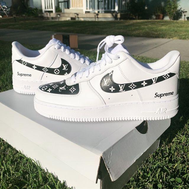 Louis vuitton shoes sneakers, Nike air