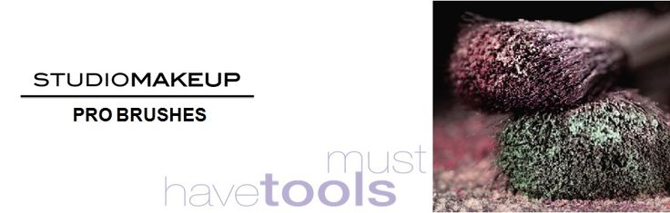 Every artist needs to have the right instruments!  #GoStudio  #Studiomakeup  www.studio-make-up.com