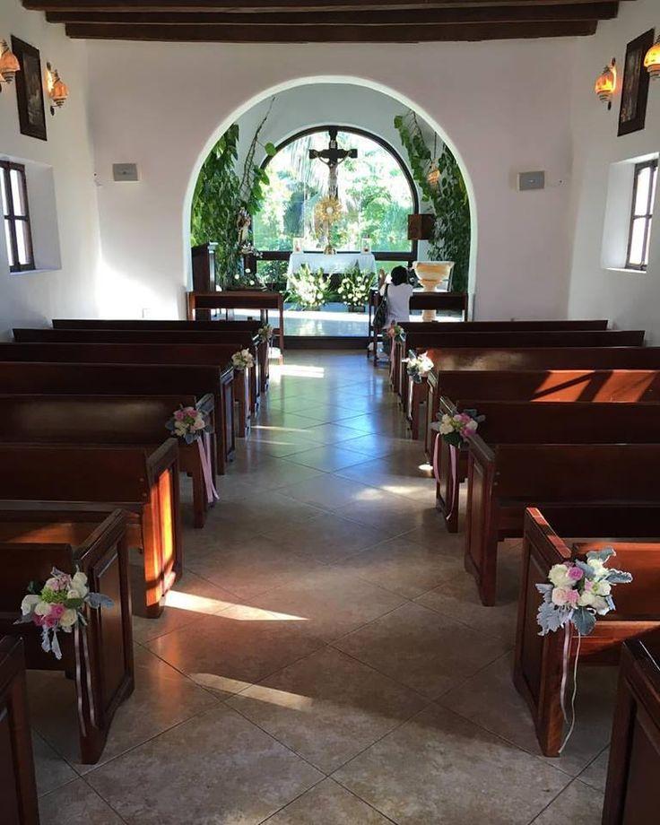 CBD192, This is Capilla de Nuestra Señora del Carmen in Playa del Carmen Mexico, 5th Avenue chapes, a very nice choice for your catholic wedding