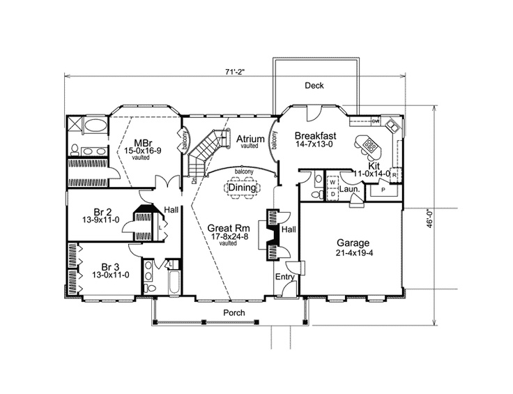 172 best floor plans images on pinterest floor plans for House plans and more com home plans