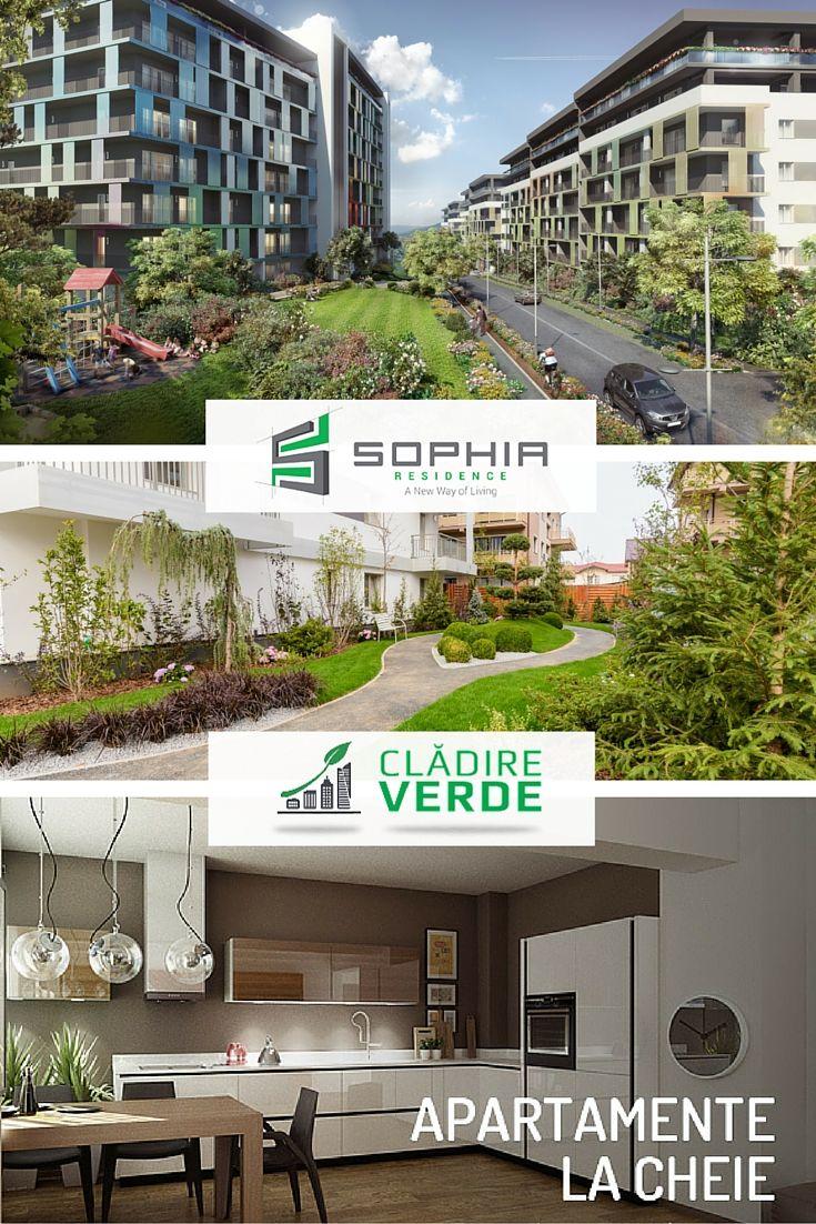 A new way of living | Imobilele din ansamblul Sophia Residence îmbină conceptul de clădire verde cu facilitățile vieții moderne, de oraș.