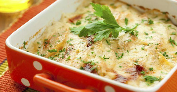 Parmesan Chive Potato Bake – perfect for entertaining.