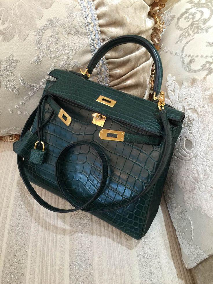 used hermes birkin bag for sale - Sacs de Cr��ateur - Hermes Kelly 25CM Matte Alligator Crocodile ...