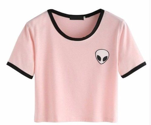 blusa alien tumblr girl- frete grátis