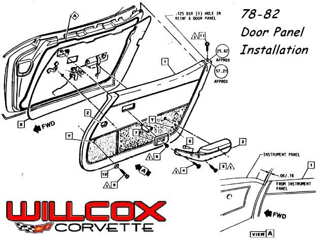 1979 Archives Page 7 Of 19 Willcox Corvette Inc Corvette Panel Doors Paneling