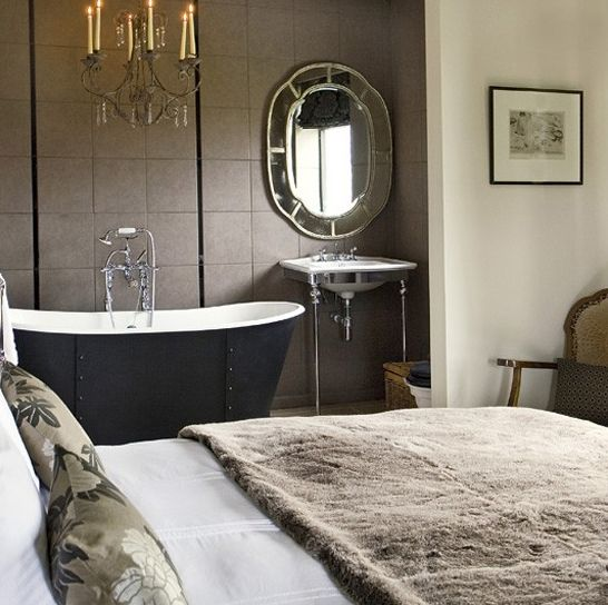 Open Bathroom Concept For Master Bedrooms Is A Design That Has Evolved.