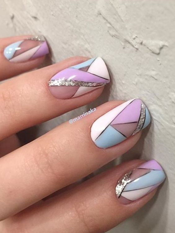 Simple Summer Nails Art Designs 2018 Nails And Nail Art In 2019