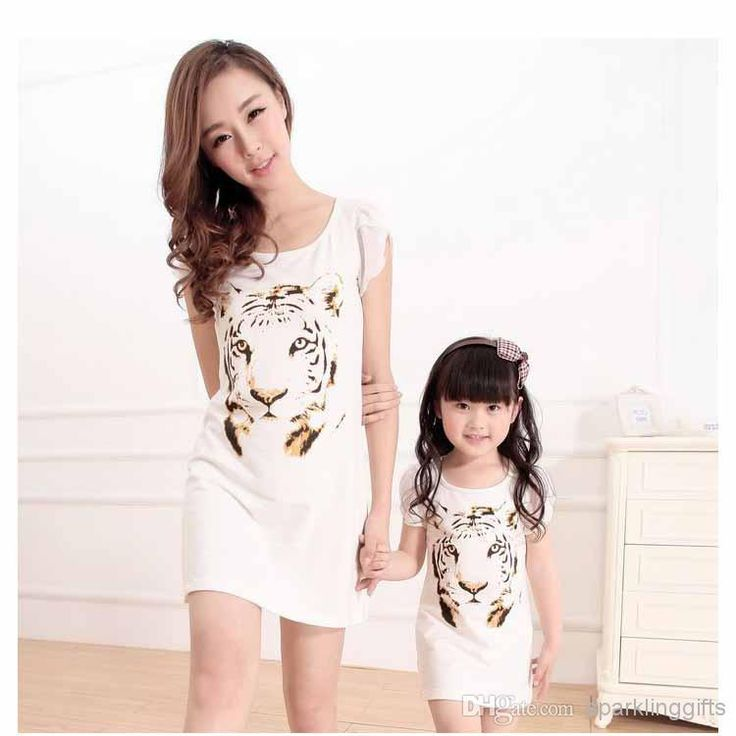 SG525-2014 Family Summer Fashion Mother And Daughter Dress Family Dress Alikes | Buy Wholesale On Line Direct from China