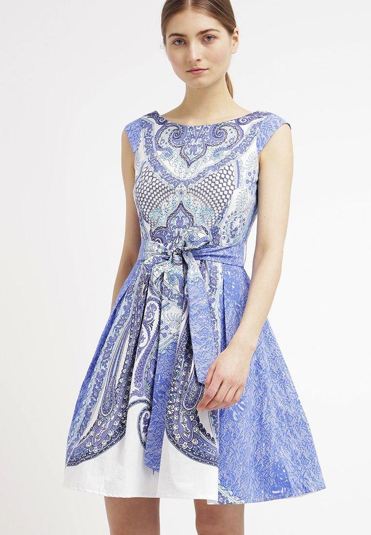 Derhy - BOMBAY - Robe d'été - bleu