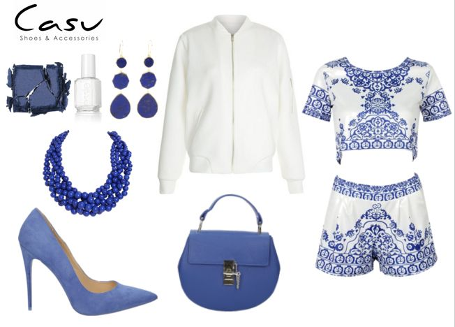 Letnia stylizacja w biało-niebieskich kolorach! My jesteśmy zachwyceni, a Wy?