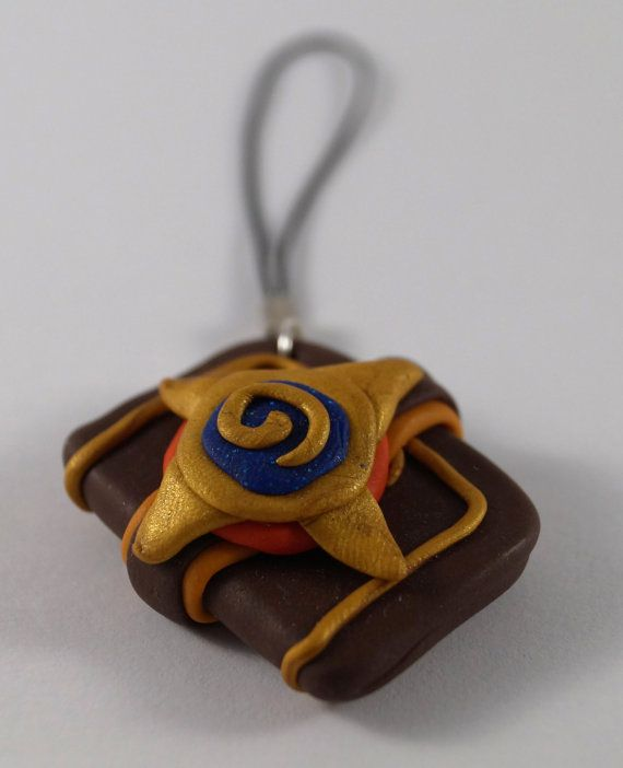 Hearthstone classic card pack keychain by TosioArt on Etsy