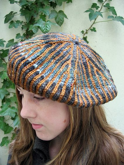 Brioche Beret Knitting Pattern : 17 Best images about Brioche stitch on Pinterest Nancy dellolio, Knitt...