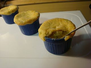"""Bariatric Foodie: Nik's """"Lil Baby"""" Pot Pies--includes recipe for Carbquik crust"""