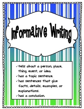 67 best images about Writing-informational on Pinterest ...