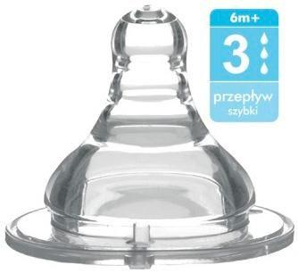 Babyono Соска для бутылок с широким горлышком – поток 3 (быстрый)  — 152р.  BabyOno соска быстрый поток обязательно понадобится для малышей, которые находятся как на грудном, так и на смешанном вскармливании. Особенности Соски : соска быстрый поток имеет 1 отверстие, которые позволяют обеспечить необходимое поступление молока или молочной смеси; Тройная анти-вакумная система соски защищает ребёнка от заглатывания воздуха, предотвращая колики; Имеющийся воздушный клапан позволяет не…