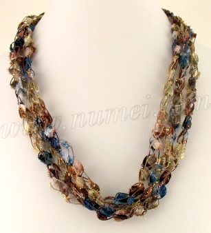 Ladder Yarn Necklaces  http://www.numei.com/crochetpatterns_ladderribbonnecklace.htm