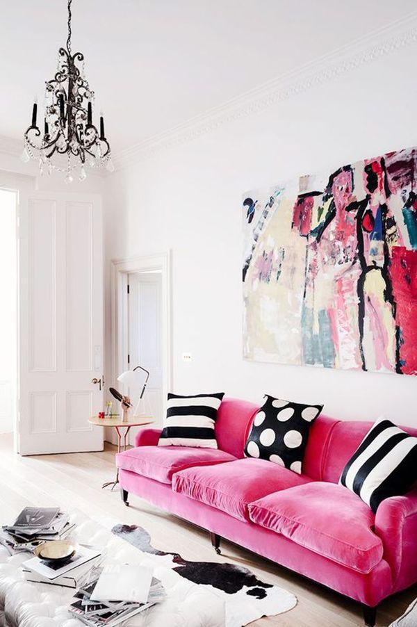 1000 ideias sobre salas de estar cor de rosa no pinterest ...