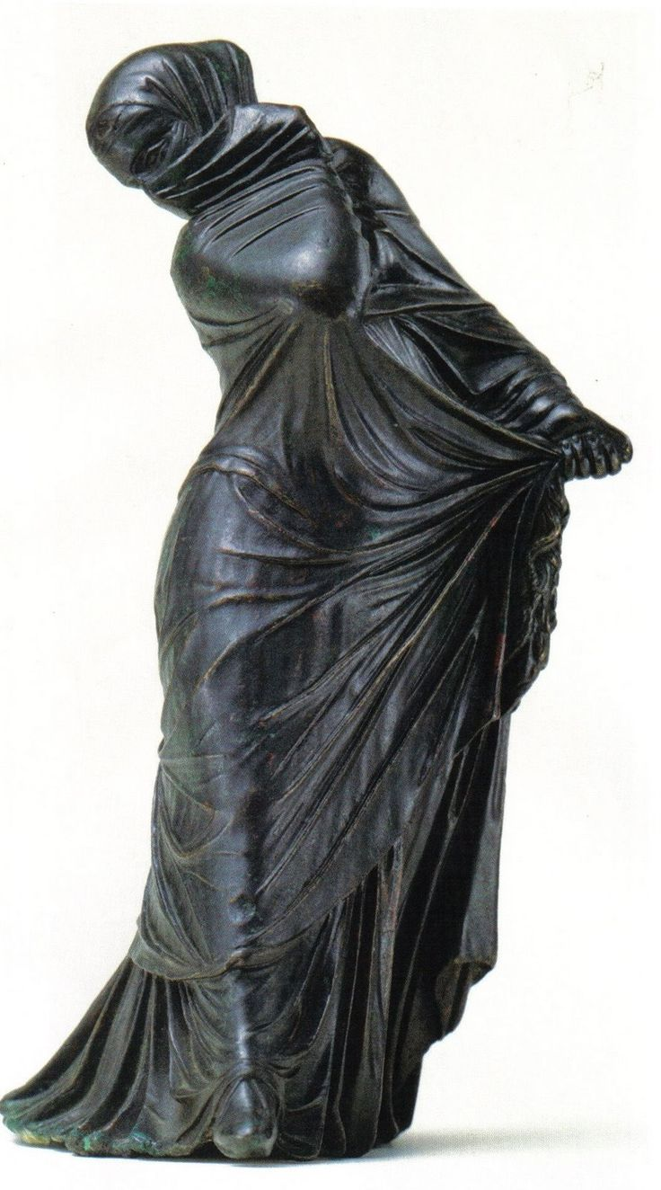 Veiled and Masked Dancer, late 3rd or 2nd century