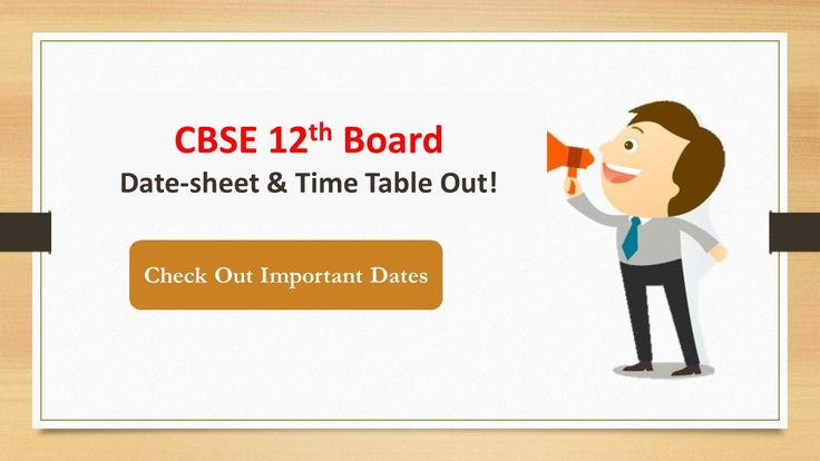 Are you a 12th Science CBSE Student? Check out the CBSE Class 12 Date Sheet 2018 for Pratical Exams, Final Exams and Result Days. Click here -