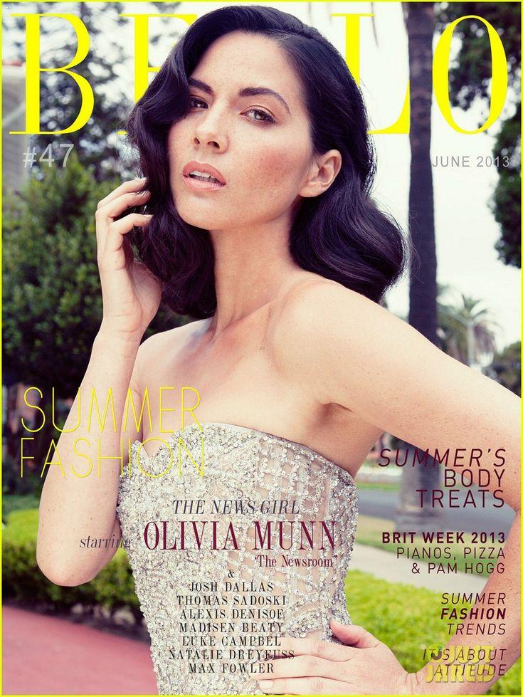 Olivia Munn - Bello magazine's June 2013