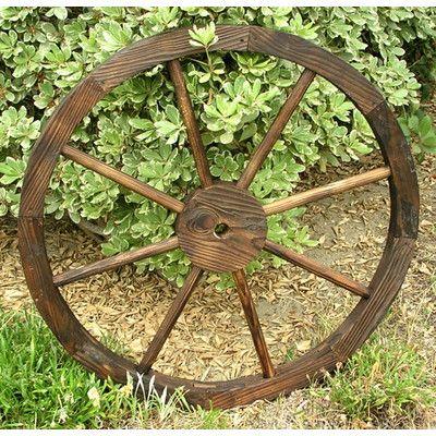 Shine Company Inc. Wagon Wheel Trellis Feeder | Wayfair