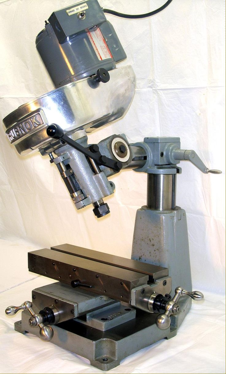 Rusnok Milling Machines and Attachments