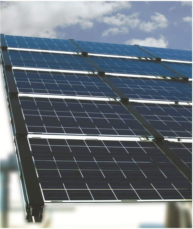 The technical overview of our solar panel installation.