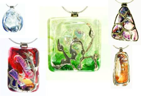 Butterfly Studio Glass Jewellery By Alan Ryan Available