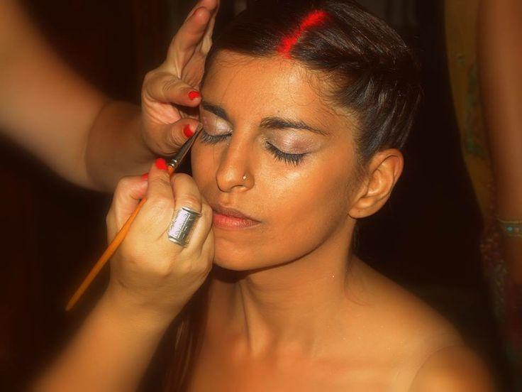 Preparativos <3   Make up - Patrícia Rodrigues