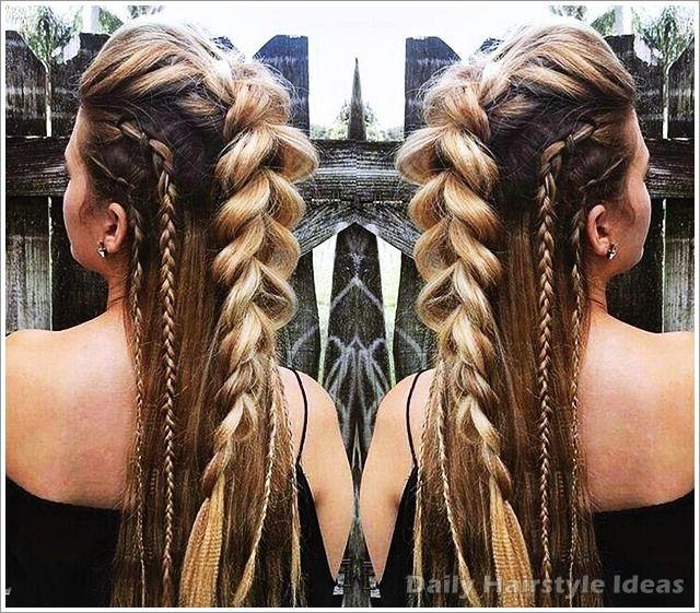 Viking Hairstyles Styling Tips In 2020 Hair Styles Long Hair Styles Hair Braid Designs