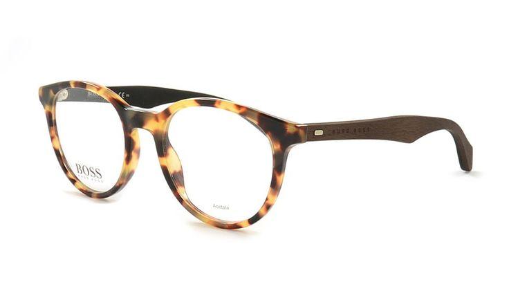 Kultige Hugo Boss Brille, 778 RAI 50 Braun. Bei Brille Kaulard online kaufen.