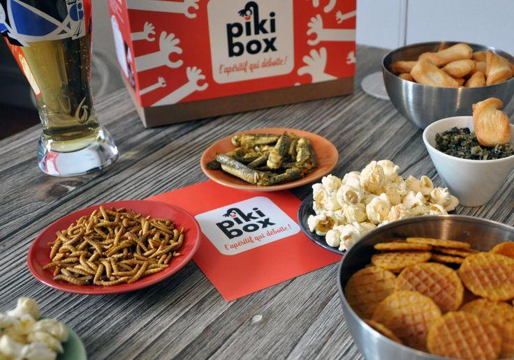 Des insectes assaisonnés, des tartares d'algues, du pop-corn aromatisé… Bien loin du chips-saucisson, c'est toute la promesse de la Piki Box : une start-up rennaise lancée en août 2014.   La suite sur www.befood.fr